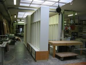 Einbauschränke Werkstatt